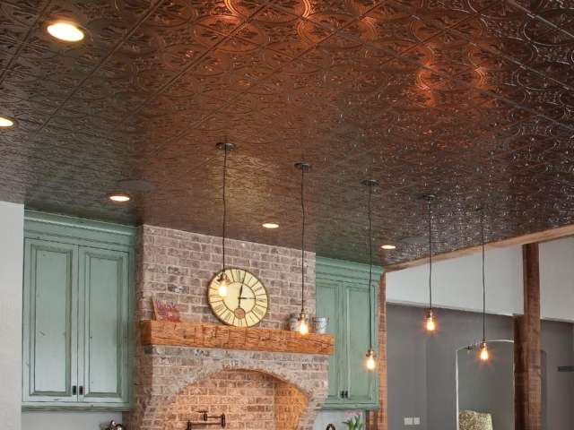 Traditional 2 ceiling in Brushed Nickel