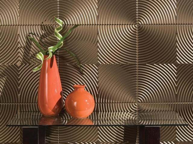 Echo wall panel in Oil-Rubbed Bronze