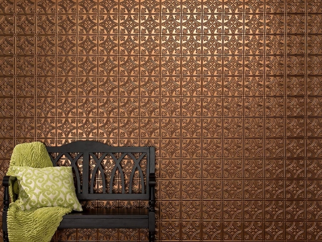 Traditional 1 wall panel in Oil-Rubbed Bronze